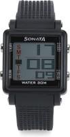 Sonata 77043PP01 Super Fibre Digital Watch For Men
