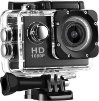 Maupin 1080p action camera 1080P 12MP Sports Helmet Waterproof Camera Sports and Action Camera(Black, 12 MP)