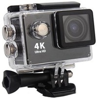 Maupin 4k 4K Rechargeable Batteries Sports and Action Camera Sports and Action Camera Sports and Action Camera(Black, 16 MP)