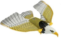 Quinergys ™ Plastic Wing Flying Eagle Toy Battery Power(Multicolor)