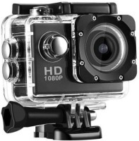 Maupin 1080p action camera Ultra HD 1080P Water Resistant Sports and Action Camera Sports and Action Camera(Black, 12 MP)