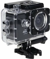 Odile Action Camera Powershot 4K Sports and Action Camera Sports and Action Camera(Black, 16 MP)