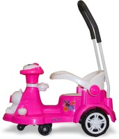 Akshat Magic Ride on car for Boys & Girls Pink Car Non Battery Operated Baby Rider(Pink)