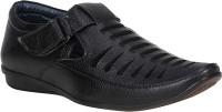 Urbanwhiz Men Black Sandals