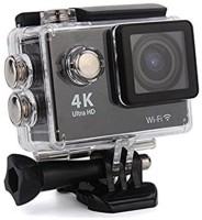 Odile Action Camera Action Camera Sports 4K Wifi Action Camera â?? 4K Ultra HD, 16MP,2 Inch LCD Display, HDMI Out, 170 Degree Wide Angle Sports and Action Camera Sports and Action Camera(Black, 16 MP)