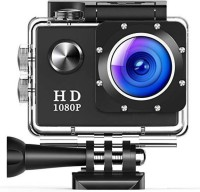 Odile 1080P Sport Action Camera Sports and Action Camera(Black, 16 MP)