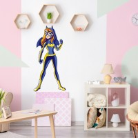 Spinn Decor Wall Decal DC Comics Batgirl Medium Self Adhesive(Pack of 1)