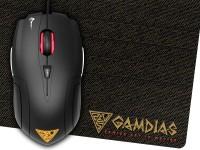 Gamdias Demeter E1 Wired Optical  Gaming Mouse(USB 2.0, Black)
