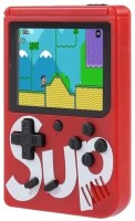 Gabbar ™ Sup Port Video Game Handheld Console Classic Retro Video Gaming Player 8 GB with Mario/Super Mario/DR Mario/Contra/Turtles and other 400 Games(Red, USB RECHARGEABLE -- Built-in 800mAh lithium battery,come with a rechargeable lithium battery and a USB cable , charging time is about 1.5 hou