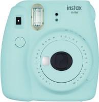 FUJIFILM mini 9 Ice Blue with 2 monochrome film ( 20 Shots ) Instant Camera(Blue)