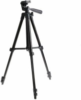 LS-LetsShop Professional Portable Aluminum Legs Flexible Tripod 3120 for Camera DV Camcorder DSLR Tripod Tripod(Black, Supports Up to 1500 g)