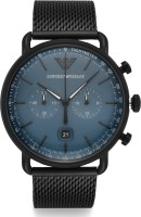 Emporio Armani AR11201 Aviator Analog Watch  - For Men