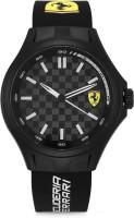 Scuderia Ferrari 0830644 Pit Crew Analog Watch  - For Men