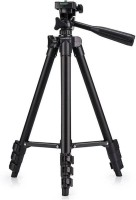 Stylin Tripod 3120 Three-Dimensional Stand For Mobiles & Cameras Tripod(Black, Supports Up to 1500 g)