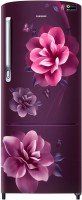 SAMSUNG 230 L Direct Cool Single Door 4 Star Refrigerator(Camellia Purple, RR24R277YCR/NL)