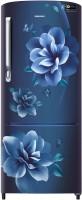 SAMSUNG 230 L Direct Cool Single Door 3 Star Refrigerator(Camellia Blue, RR24R275ZCU/NL)