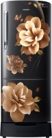 Samsung 212 L Direct Cool Single Door 3 Star Refrigerator with Base Drawer(Camellia Black, RR22R285ZCB/NL) (Samsung) Tamil Nadu Buy Online