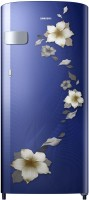 View Samsung 192 L Direct Cool Single Door 1 Star Refrigerator(Star Flower Blue, RR19R2Y22U2/NL)  Price Online