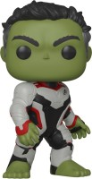 Funko Avengers End Game (Infinity War 2) - Hulk in Team Suit Pop Bobblehead Figure(Multicolor)