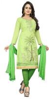 Smart Products Embroidered Kurta, Churidar & Dupatta Set(Stitched)