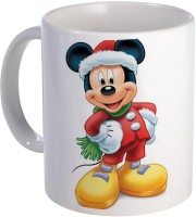 COLOR YARD Best cute Mickey with reading book cartoons design on Ceramic Mug(320 ml)