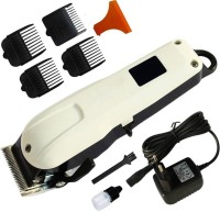 care 4 Powerful adjustable blade 608B professional high quality hair trimmer/clipper  Runtime: 240 min Trimmer for Men(White)