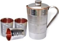 DakshCraft AB1234 Jug Glass Set(Copper)