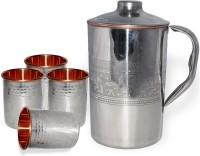 DakshCraft AB1283 Jug Glass Set(Copper)