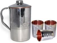 DakshCraft AB1288 Jug Glass Set(Copper)