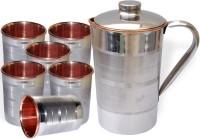 DakshCraft AB1236 Jug Glass Set(Copper)