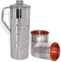 DakshCraft AB1260 Jug Glass Set(Copper)