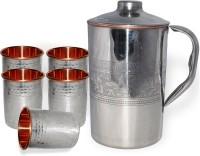 DakshCraft AB1284 Jug Glass Set(Copper)