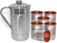 DakshCraft AB1276 Jug Glass Set(Copper)