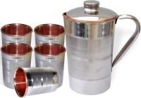DakshCraft AB1235 Jug Glass Set(Copper)
