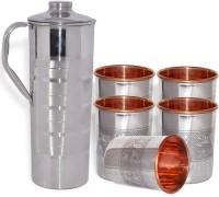 DakshCraft AB1263 Jug Glass Set(Copper)
