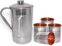 DakshCraft AB1274 Jug Glass Set(Copper)