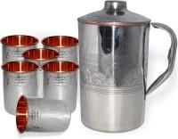 DakshCraft AB1285 Jug Glass Set(Copper)