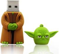 PANKREETI PKT519 Star Wars Yoda Cartoon Designer 8 GB Pen Drive(Multicolor)