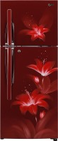 View LG 260 L Frost Free Double Door 3 Star Refrigerator(Ruby Glow, GL-T292RRGY) Price Online(LG)