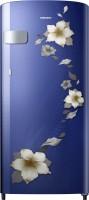 SAMSUNG 192 L Direct Cool Single Door 1 Star Refrigerator(Star Flower Blue, RR19R2Y22U2/NL)