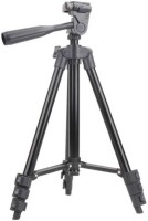 Tech-X 3120 Foldable Camera Mobile Tripod Tripod(Silver, Black, Supports Up to 1500 g)