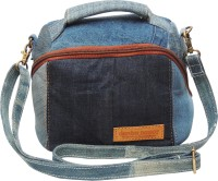 Denim Decor Camera Bag  Camera Bag(Blue)