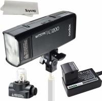 godox Wistro AD 200 TTL Pocket Flash Kit (Black) Flash(Black)