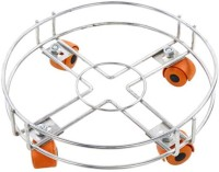 Shoppernation Durable Wire Gas Trolley Gas Stand Gas Cylinder Trolley(Multicolor)