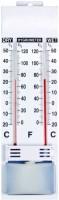Shakuntla PSYCHROMETER Wet & Dry Bulb Hygrometer Humidity Temperature Meter All-in-One Analog Moisture Measurer(10 mm)