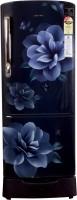 Samsung 196 L Direct Cool Single Door 3 Star Refrigerator(Blue, RR22R285ZCU)