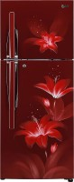 View LG 260 L Frost Free Double Door 3 Star Refrigerator(Ruby Glow, GL-C292RRGY) Price Online(LG)