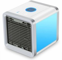 View Premsons Arctic Air Portable Purifier Mini Cooler (White) S05C Bluetooth Speaker Room/Personal Air Cooler(Multicolor, 0.5 Litres)  Price Online