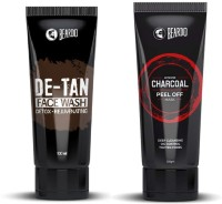 Beardo Activated Charcoal Peel Off Mask And De Tan Face Wash Combo(2 Items in the set)