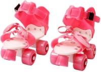 Aurion KIDS-ROLLER-SKATES(PINK) Quad Roller Skates - Size 5-11 UK(Pink)